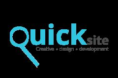 קוויק-סייט לוגו לשירות בניית אתרים