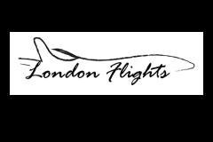 עיצוב גרפי של לוגו עבור אתר טיסות ללונדון